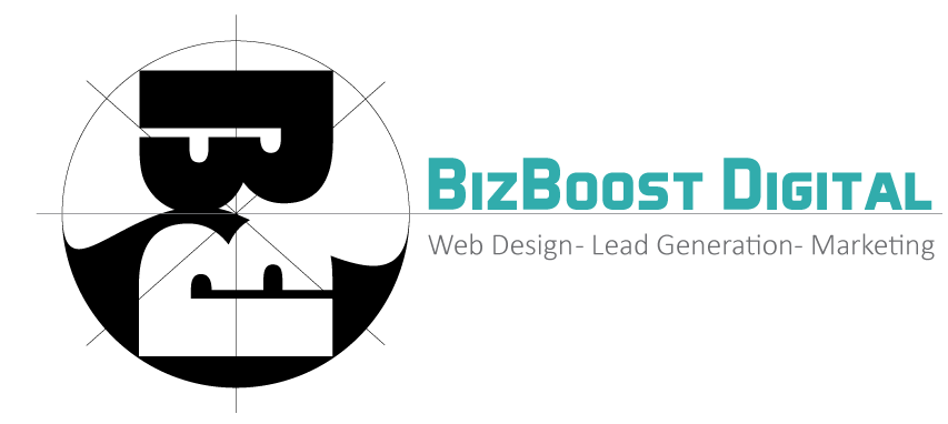 bizboost logo web design seo video commercials galveston houston texas