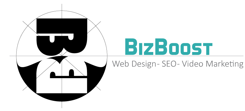 bizboost logo web design seo video commercials friendswood texas