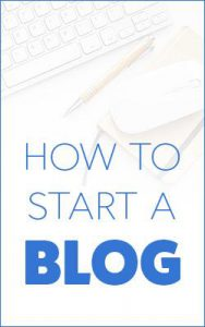 How To Start A Blog With Bluehost domain hosting