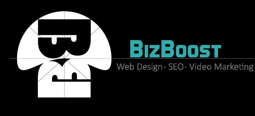 bizboost logo web design seo video commercials galveston houston texas